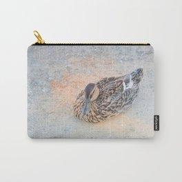 Mallard Duck resting Carry-All Pouch