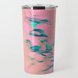 I See Beauty - Malachite Marble Travel Mug