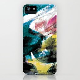 Abstract Artwork Colourful #3 iPhone Case