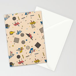 Memphis Inspired Pattern 9 Stationery Cards
