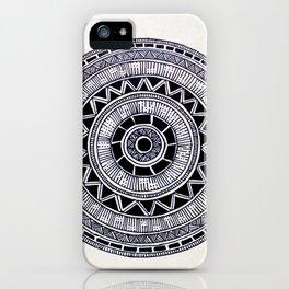 Mandala Creation #6 iPhone Case