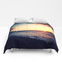 Kalalau Sunset Comforters