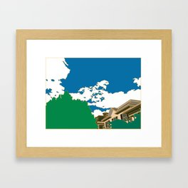 Union Street Framed Art Print