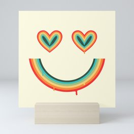 Happy Rainbow Mini Art Print