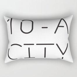 Ten-A-City Logo Rectangular Pillow
