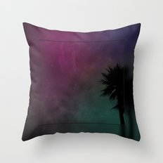 Cosmic Paradise Throw Pillow