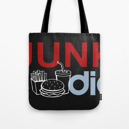 I HEART Junk Food Tote Bag
