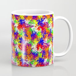 Vibrant Trippy Jiggle Pattern Coffee Mug