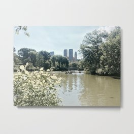 San Remo from the park Metal Print