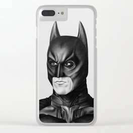 The Bat Drawing Clear iPhone Case
