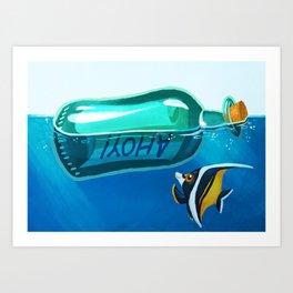 Ahoy! Art Print