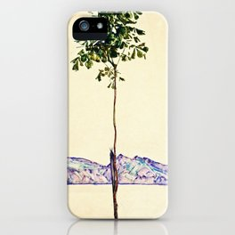 Egon Schiele -Little Tree iPhone Case