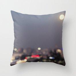 Beijing at Night Throw Pillow