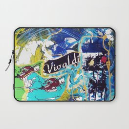 VIVALDI: Concerto for Two Violins          by Kay Lipton Laptop Sleeve
