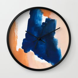 thursday afternoon: abstract painting Wall Clock