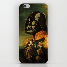 Portrait of Lord Vader iPhone & iPod Skin