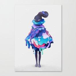 Lollipop Queen Canvas Print