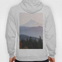 Mount Hood over the Columbia River Gorge Hoody