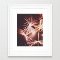 ruby Framed Art Prints featuring ruby by Ingrid Beddoes