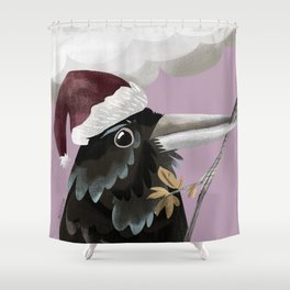 Nöel Raven: GREFA´s Carol Shower Curtain