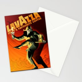 """Vintage Lavazza Italian Pagliacci """"Clown"""" Coffee Lithograph Advertisement Poster Stationery Cards"""