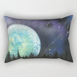 Beyond The Trees Rectangular Pillow