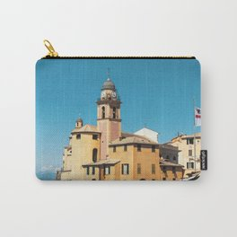 The castle of Camogli in summer Carry-All Pouch