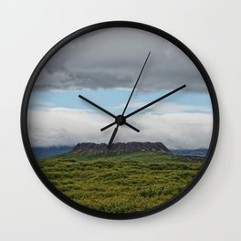 Past Is Prologue Wall Clock