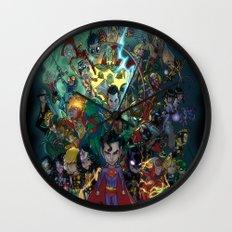Lil' Super Friends Wall Clock