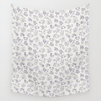 constellations Wall Tapestries featuring Zodiac Constellations by zizilka