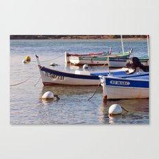 French boats - St Marc 6976 Canvas Print