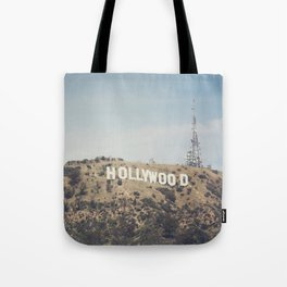 Hike to the Sign Tote Bag