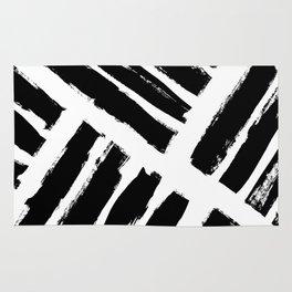 Abstract Monochrome 02 Rug