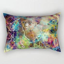 Wisdom Of Youth Rectangular Pillow