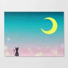 Sailor Night Canvas Print