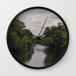 Slow Jungle River Down South Wall Clock