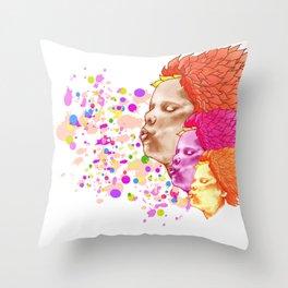Spring Wind 2 Throw Pillow