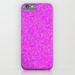 Speckled Hot Pink iPhone Case