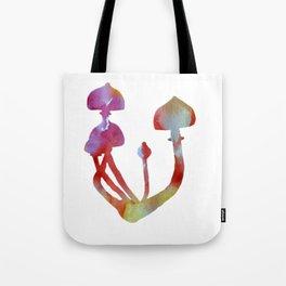 Mushrooms Watercolor Magic Tote Bag