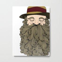 Musky Old Man Metal Print
