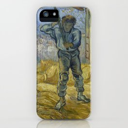 The Thresher (after Millet) iPhone Case