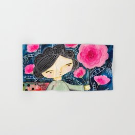 Quilted Princess Hand & Bath Towel