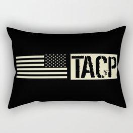 TACP (Black Flag) Rectangular Pillow