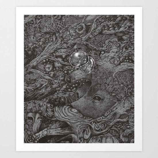 An empty dream Art Print