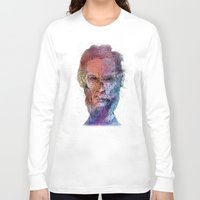 lincoln Long Sleeve T-shirts featuring Zombie Lincoln by Albert F. Montoya