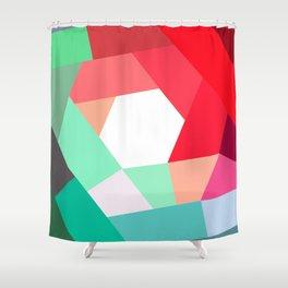 KOLOR crazy magenta Shower Curtain