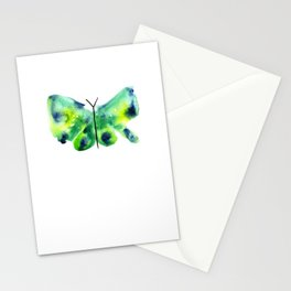 Sea Glass Butterfly Stationery Cards