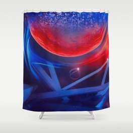 EGFX DISTINCT DROP M516 Shower Curtain