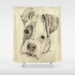 Pluto  Shower Curtain