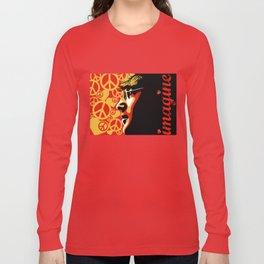 John Lennnon Imagine  Long Sleeve T-shirt